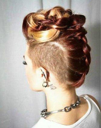 Easy Hairstyles for Medium Length Hair (128)