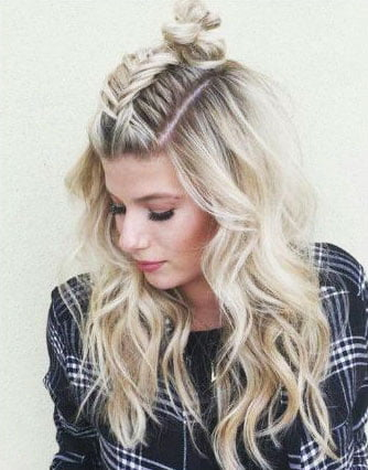 Easy Hairstyles for Medium Length Hair (20)