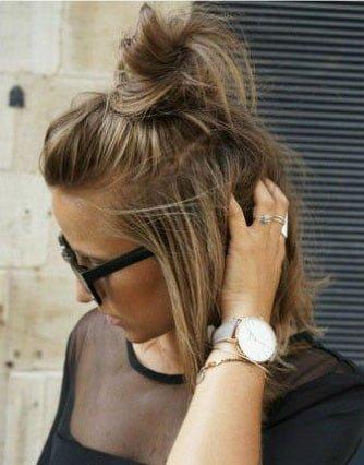 Easy Hairstyles for Medium Length Hair (24)