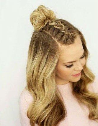 Easy Hairstyles for Medium Length Hair (25)