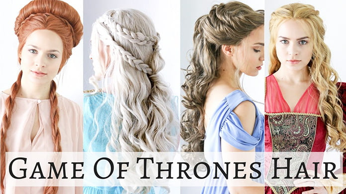 easy game of thrones hairstyles