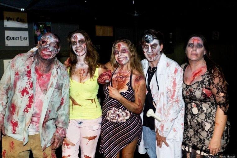 group of gangs halloween