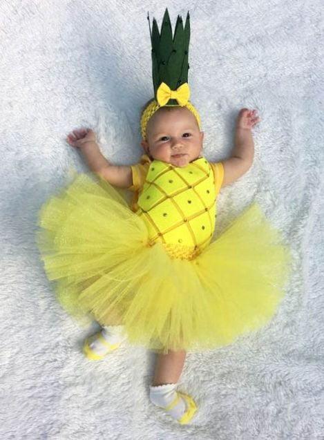 pineapple halloween dress