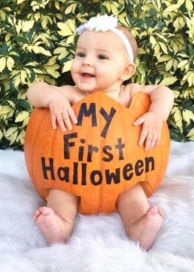 pumpkin halloween dress