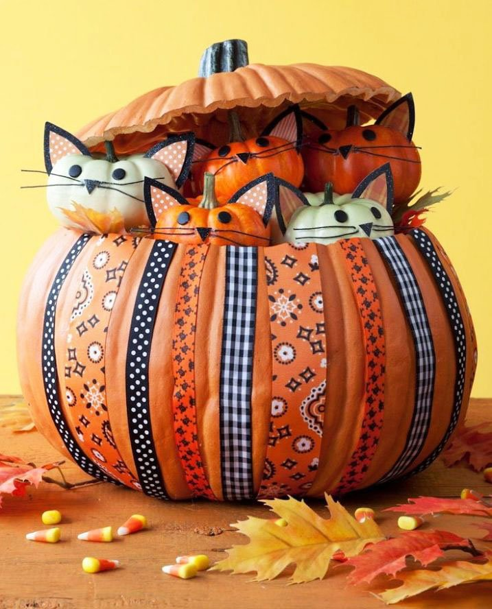 Easy Creative Pumpkin Carving Ideas (48)