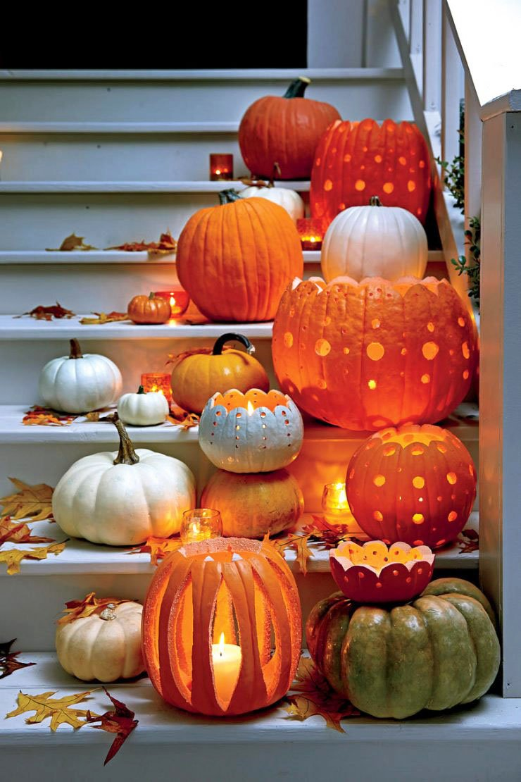 Easy Creative Pumpkin Carving Ideas (52)