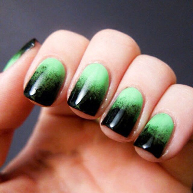 Halloween Acrylic Nails Design (2)