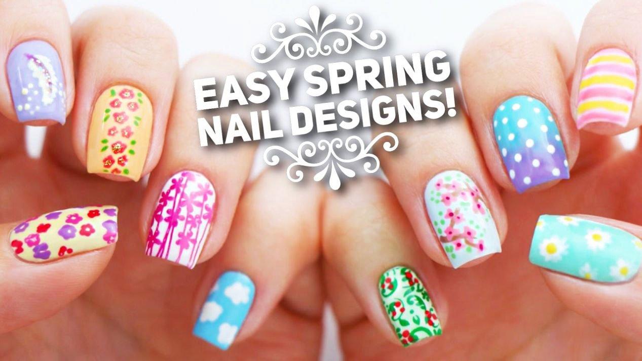 31 Cute Nails for Spring 2020 Ideas Spring Nails Nail Designs