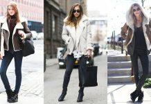 Best Shearling Coat Women-Shearling Jackets Ideas for Women