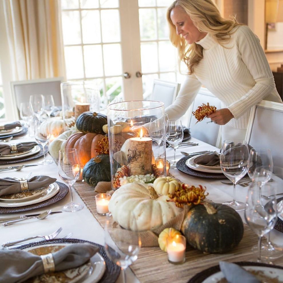 Inexpensive Thanksgiving Table Decoration Ideas (1)