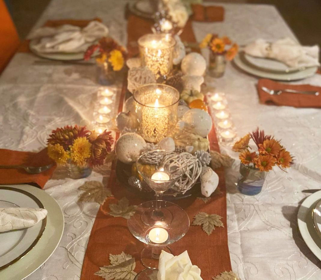 Inexpensive Thanksgiving Table Decoration Ideas (18)
