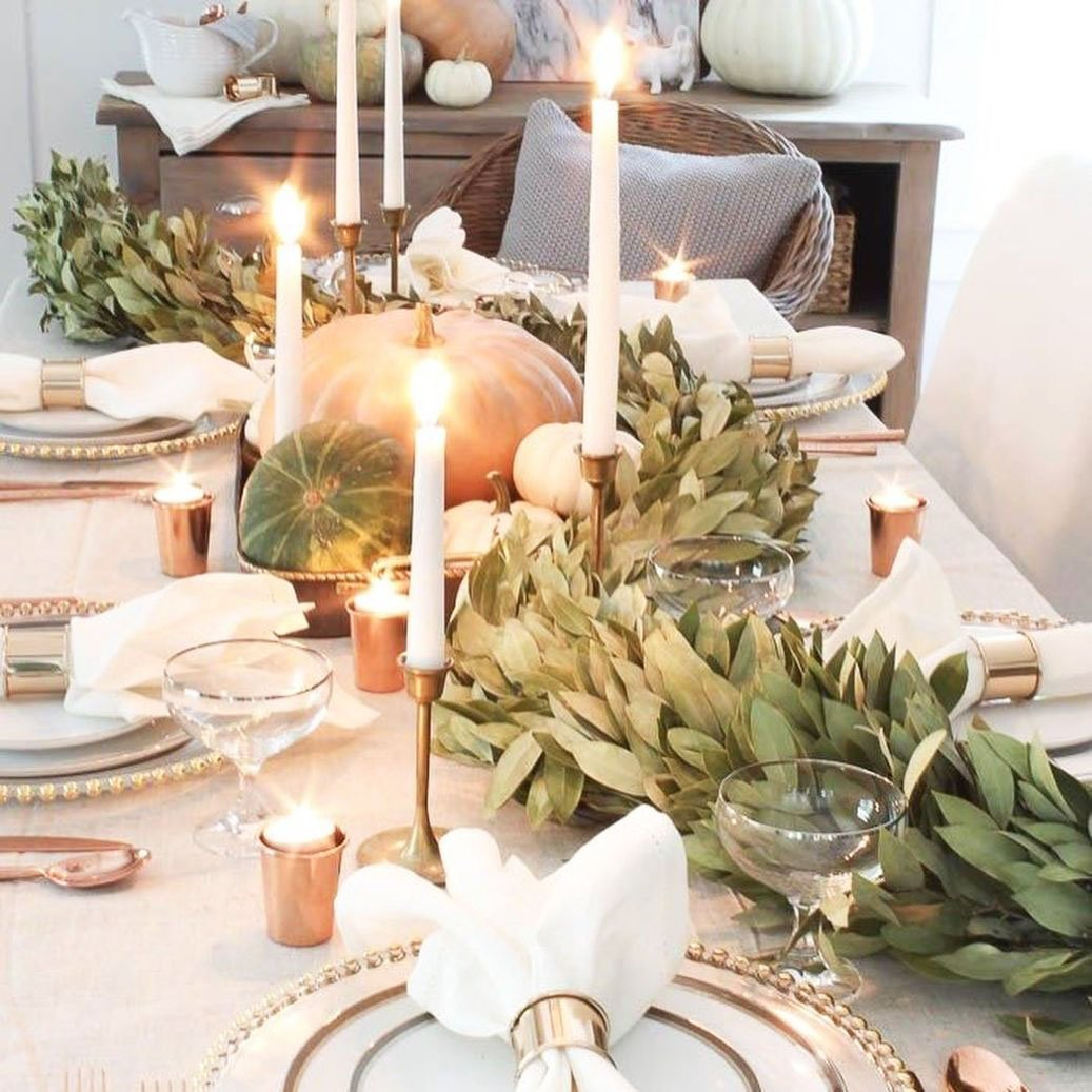 Inexpensive Thanksgiving Table Decoration Ideas (2)