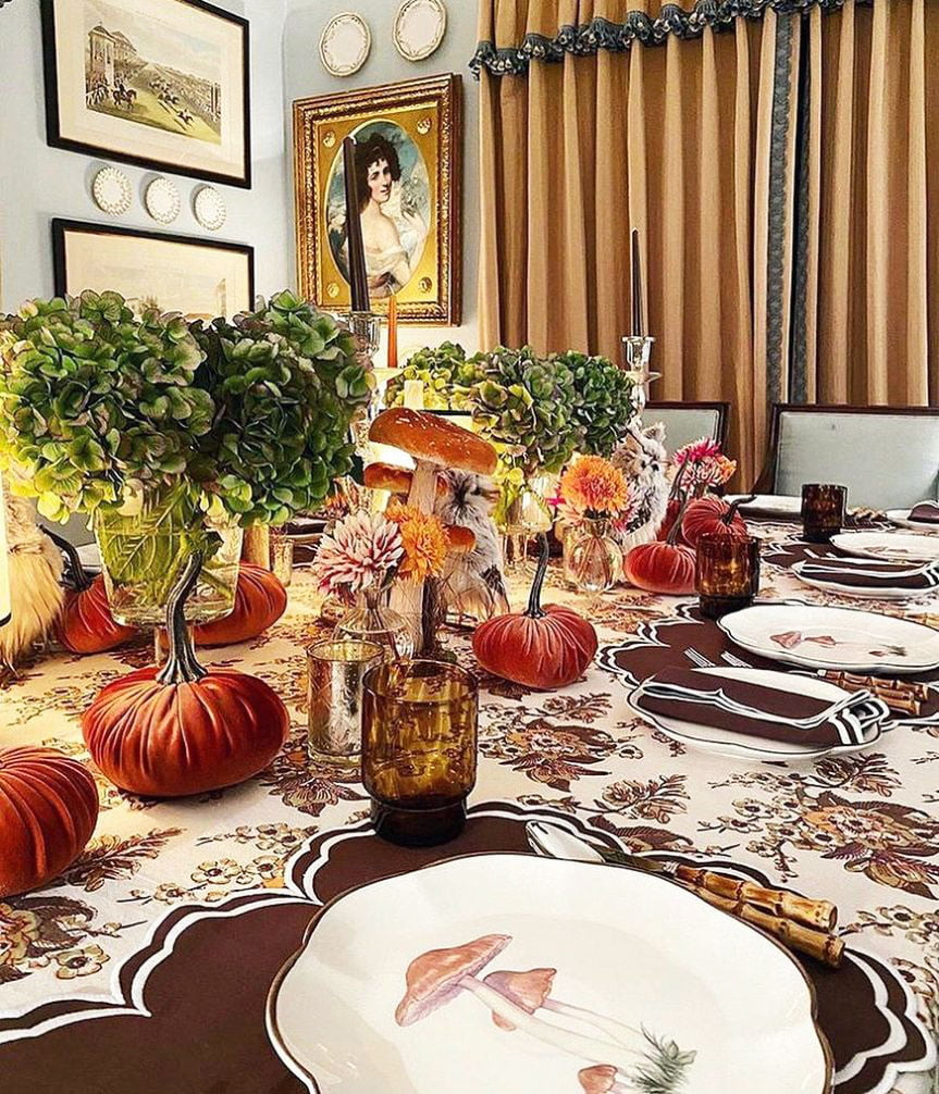 Inexpensive Thanksgiving Table Decoration Ideas (7)