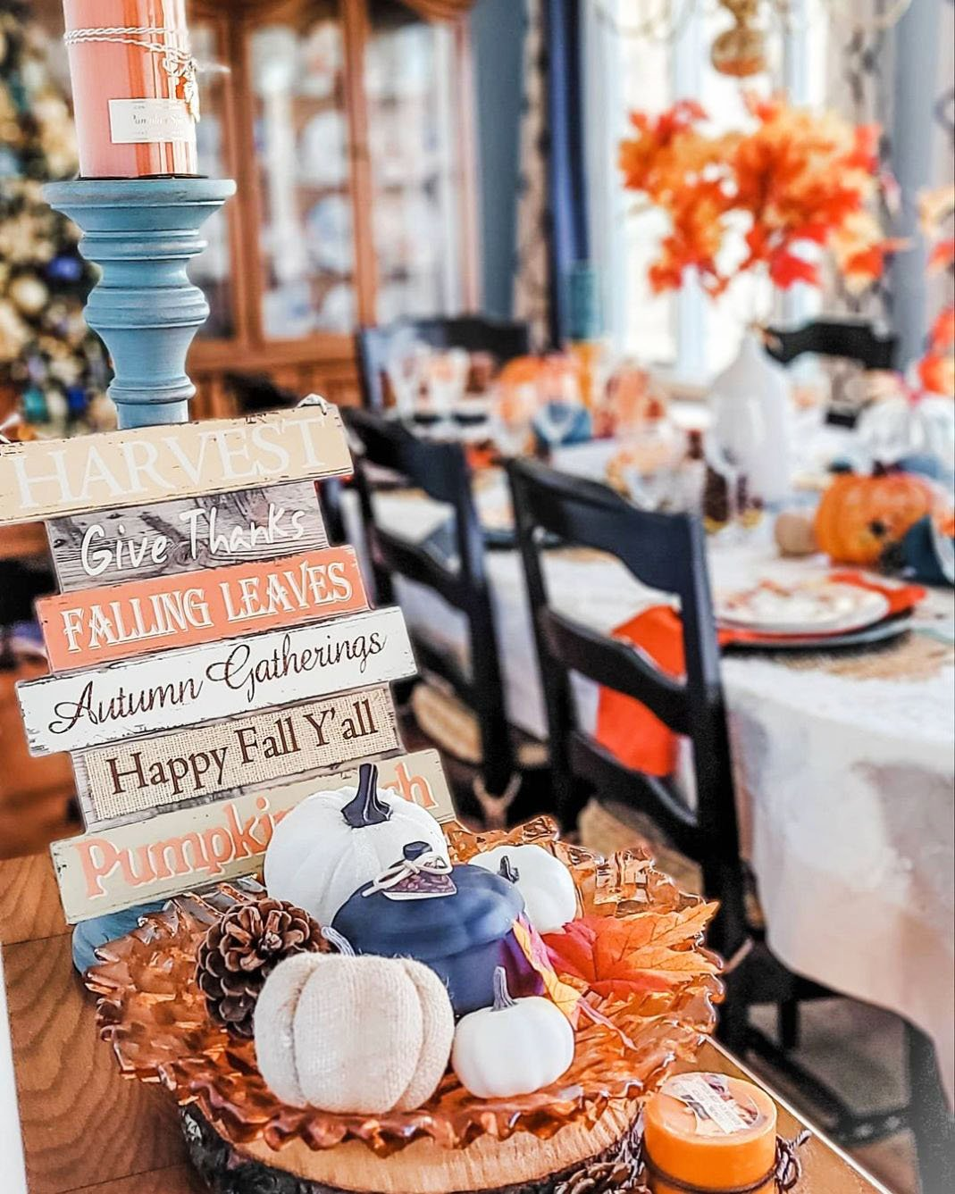 Inexpensive Thanksgiving Table Decoration Ideas (8)