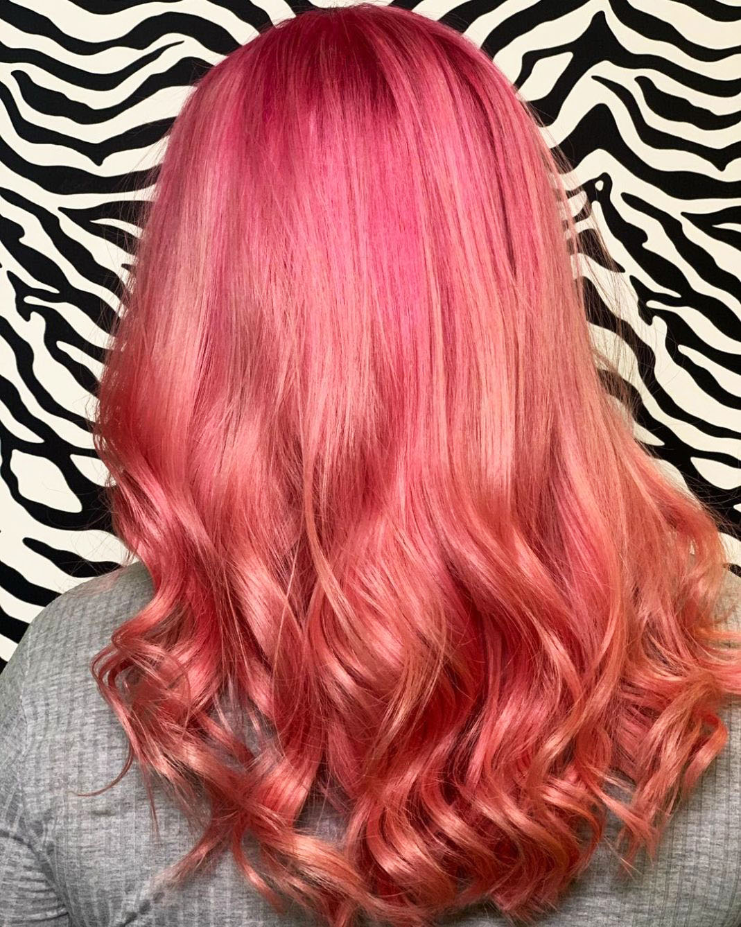 Pink hair a full palette of pink shades and coloring features 12 26