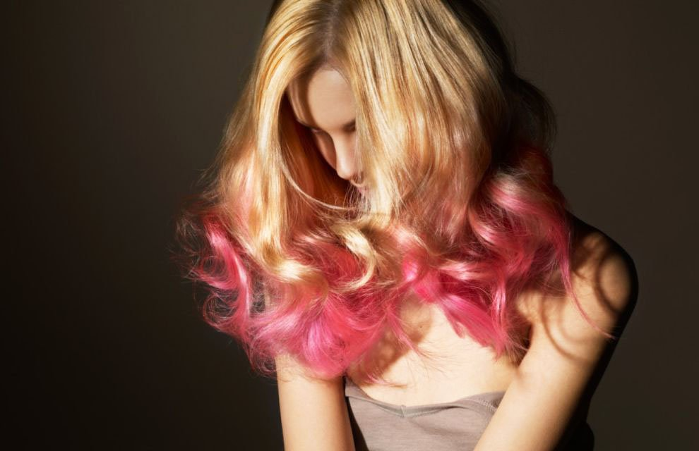 Pink hair a full palette of pink shades and coloring features 24 14