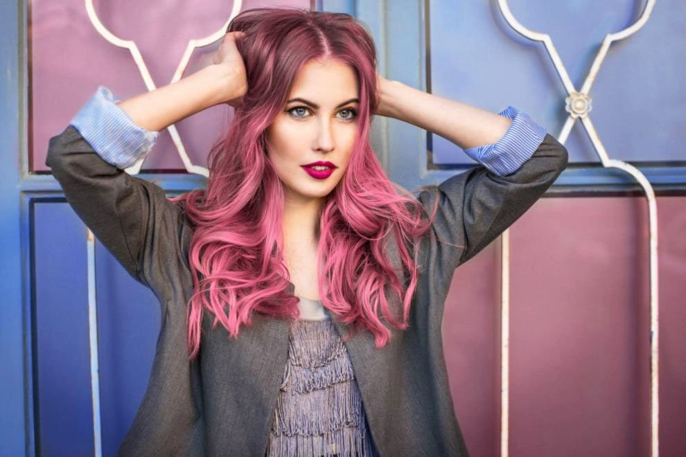 Pink hair a full palette of pink shades and coloring features 30 23