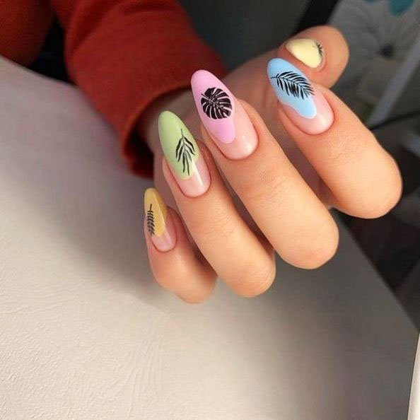 Renewed spring manicure. What the masters of nail art have prepared for us 30 24