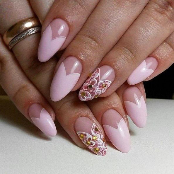 Renewed spring manicure. What the masters of nail art have prepared for us 47 16