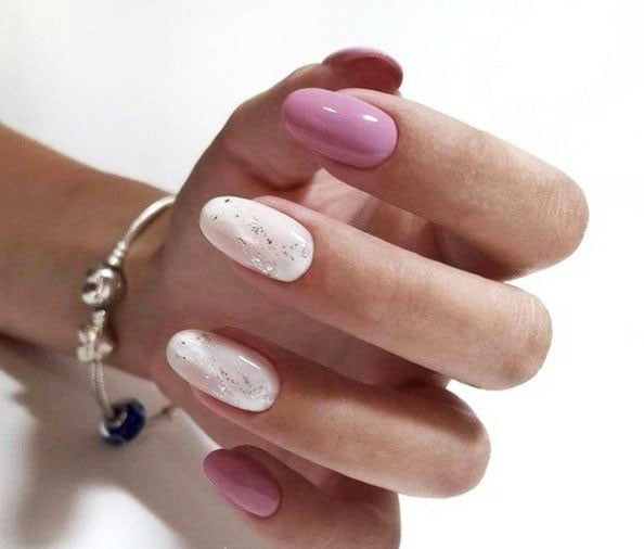 Renewed spring manicure. What the masters of nail art have prepared for us 7 3