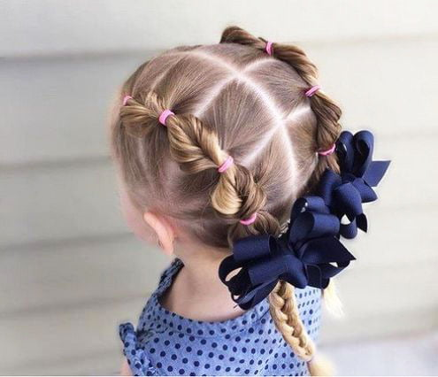 The most beautiful hairstyles for girls at the prom 13 45