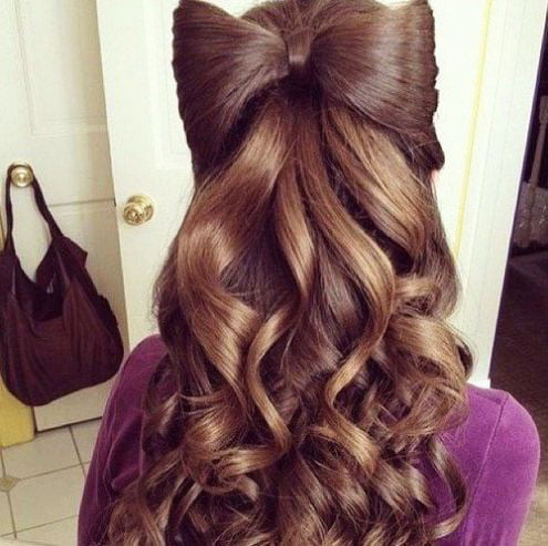 The most beautiful hairstyles for girls at the prom 20 43