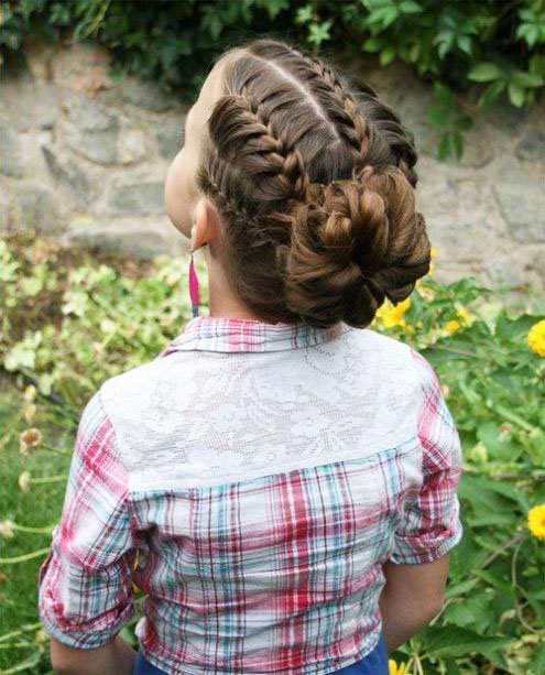 The most beautiful hairstyles for girls at the prom 35 40