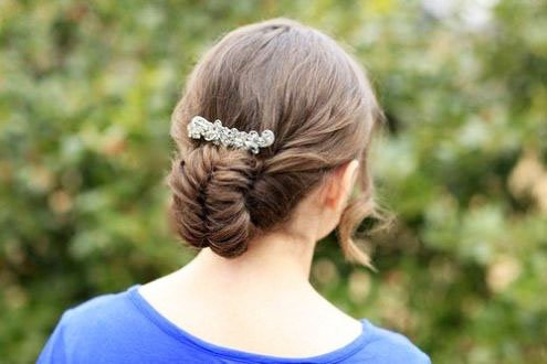 The most beautiful hairstyles for girls at the prom 46 37