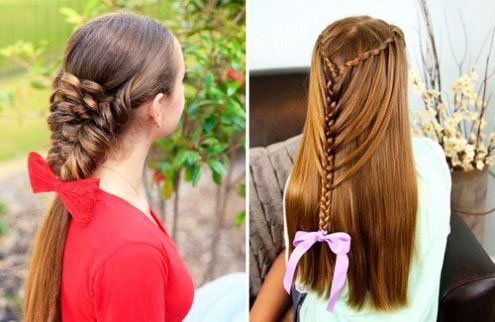 The most beautiful hairstyles for girls at the prom 56 20