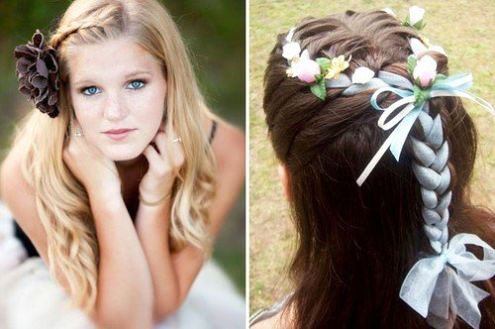 The most beautiful hairstyles for girls at the prom 58 18