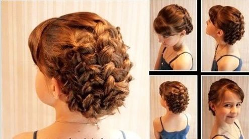 The most beautiful hairstyles for girls at the prom 61 48