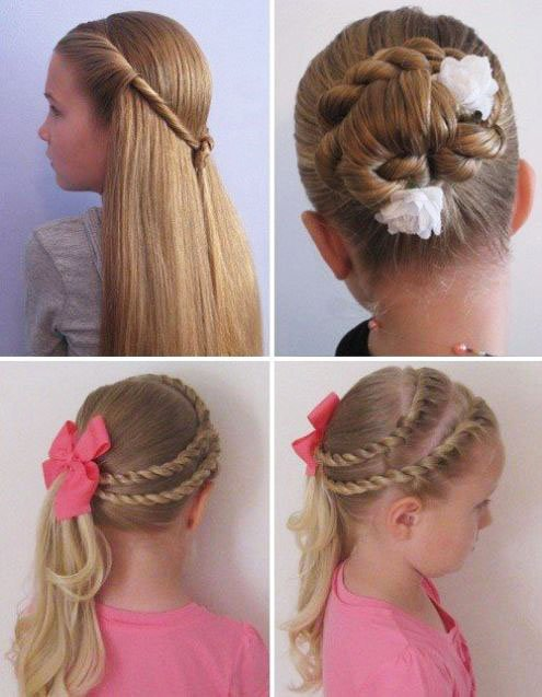 The most beautiful hairstyles for girls at the prom 78 12