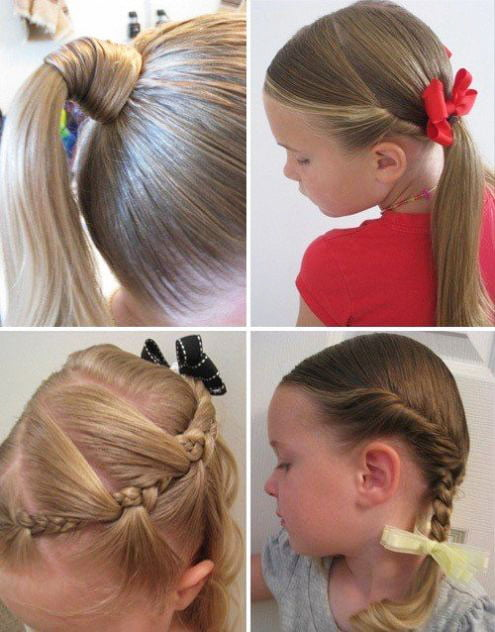 The most beautiful hairstyles for girls at the prom 80 14