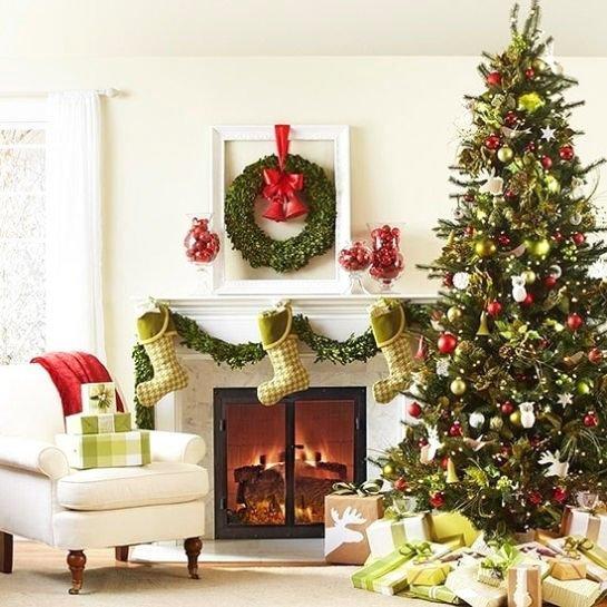 Lemon Red Christmas Tree
