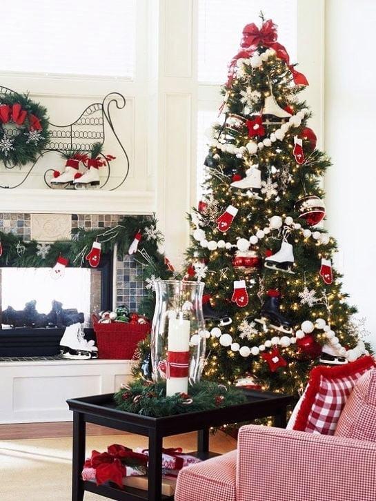 Christmas Tree With Winter Fun