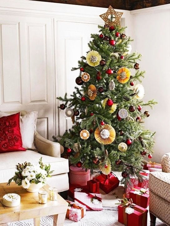 Artful Christmas Tree